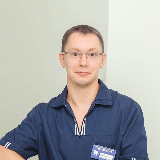 Стоматолог -ортопед-хирург-имплантолог Русов Дмитрий Мединвест — Ярославль