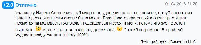 Нарек Симонян - стоматолог хирург Ярославль Мединвест семейная стоматология