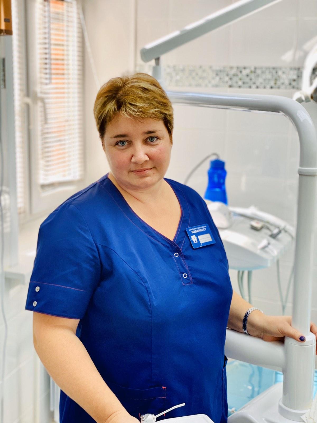 Концеренко Оксана Сергеевна - врач стоматолог пародонтолог
